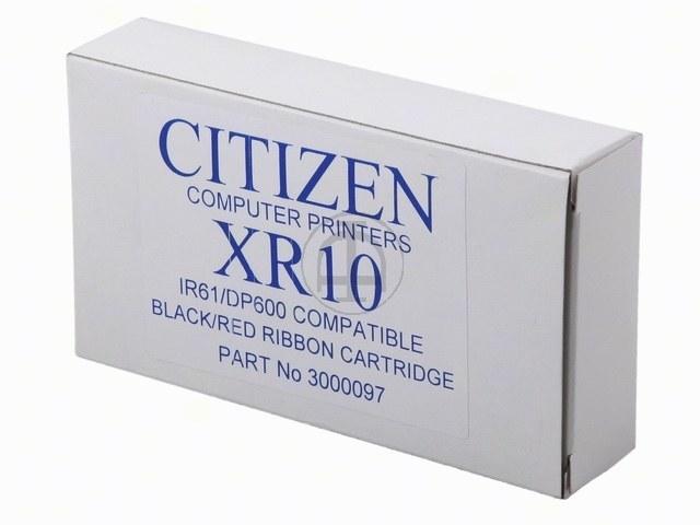 3000097 CITIZEN DP600 FBK SCHWARZ-ROT IR61RB Nylon