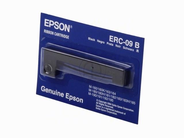 C43S015354 EPSON ERC09B FBK NYLON SCHW 0,25Mio Zeichen schwarz