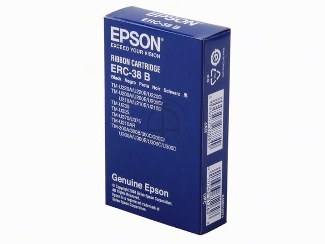 C43S015374 EPSON ERC38B FBK NYLON SCHW 3Mio Zeichen schwarz