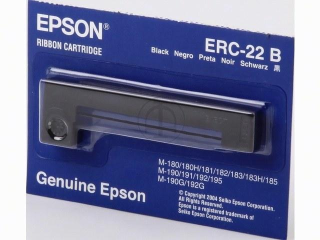 C43S015358 EPSON ERC22B FBK NYLON SCHW 6Mio Zeichen schwarz