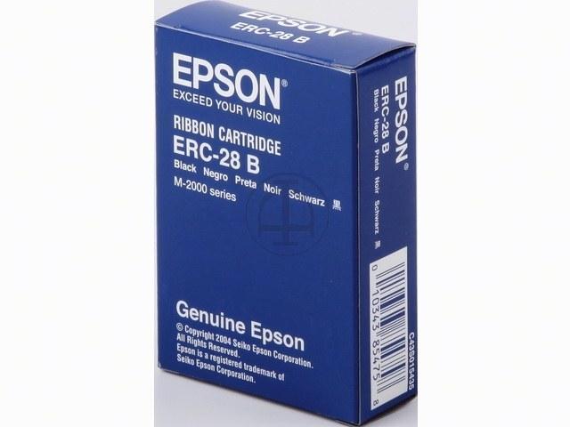C43S015435 EPSON ERC28B FBK NYLON SCHW 5Mio Zeichen schwarz