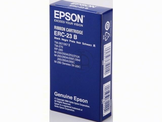 C43S015360 EPSON ERC23B FBK NYLON SCHW 1,5Mio Zeichen schwarz