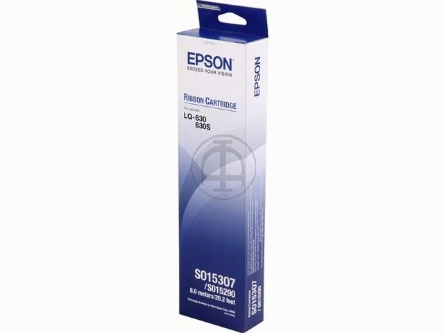 C13S015307 EPSON LQ630 FBK NYLON SCHWARZ 2Mio Zeichen