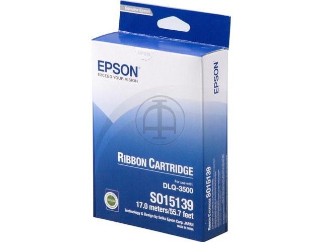C13S015139 EPSON DLQ3500 FBK NYLON SCHW 9Mio Zeichen schwarz