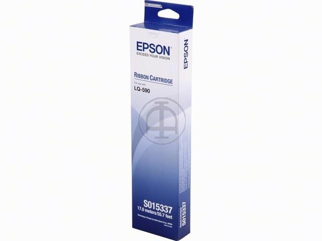 C13S015337 EPSON LQ590 FBK NYLON SCHWARZ 5Mio Zeichen