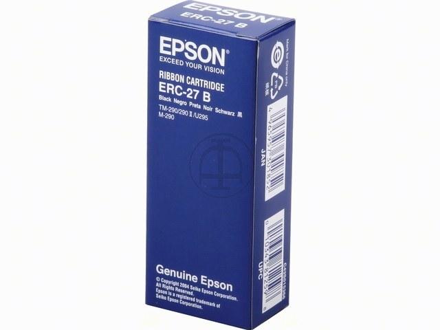 C43S015366 EPSON ERC27B FBK NYLON SCHW 1Mio Zeichen schwarz