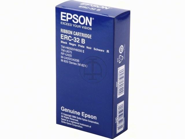 C43S015371 EPSON ERC32B FBK NYLON SCHW 4Mio Zeichen schwarz