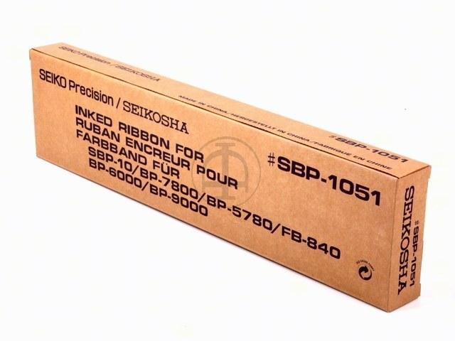 95520 SEIKO SBP10 FBK NYLON SCHWARZ SBP1051 20Mio Zeichen