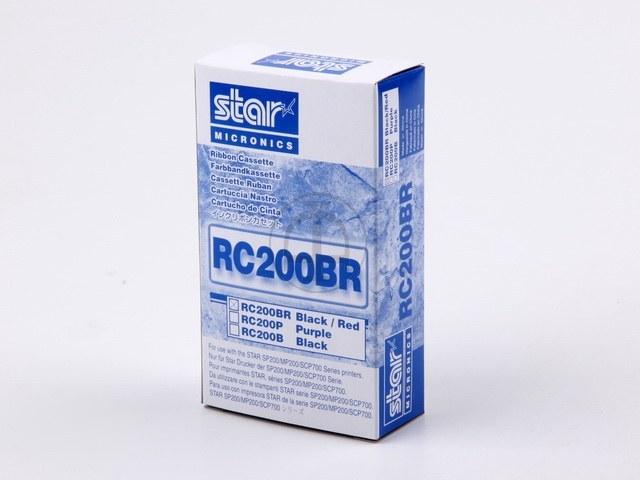 RC200BR STAR SP200 FBK NYLON SCHWARZ-ROT 30980211 600.000Zei schw/300.000Zei rot