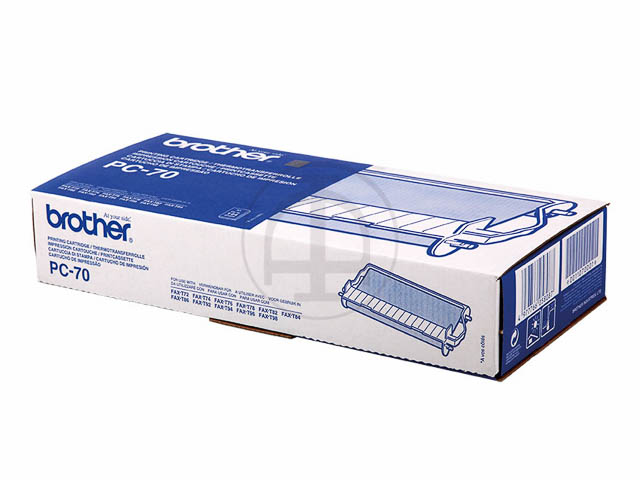 PC70 BROTHER FAX72 CARTRIDGE BLACK 144Seiten cartridge+refill (1+1)