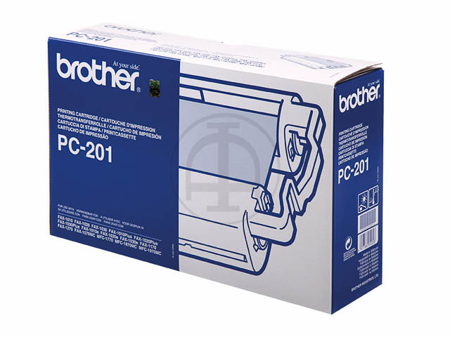 PC201 BROTHER FAX1010 CARTRIDGE 420Seiten Cartridge+Refill (1+1)