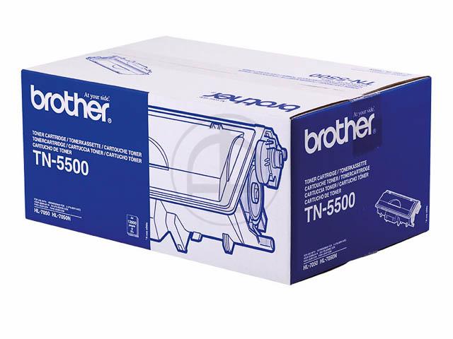 TN5500 BROTHER HL7050 TONER BLACK 12.000Seiten