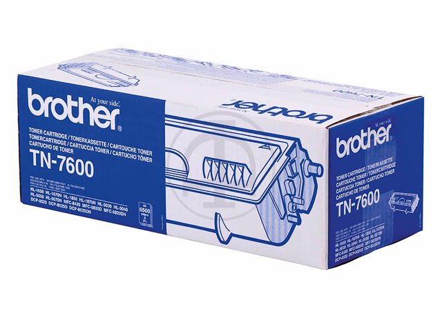 TN7600 BROTHER HL1650 TONER BLACK 6500Seiten