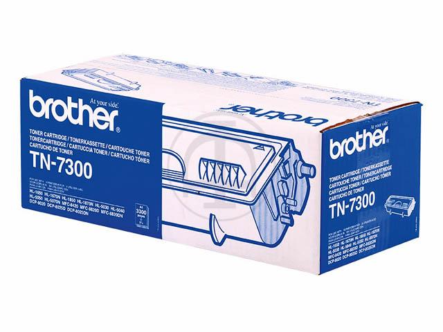 TN7300 BROTHER HL1650 TONER BLACK ST 3300Seiten Standard Kapazitaet
