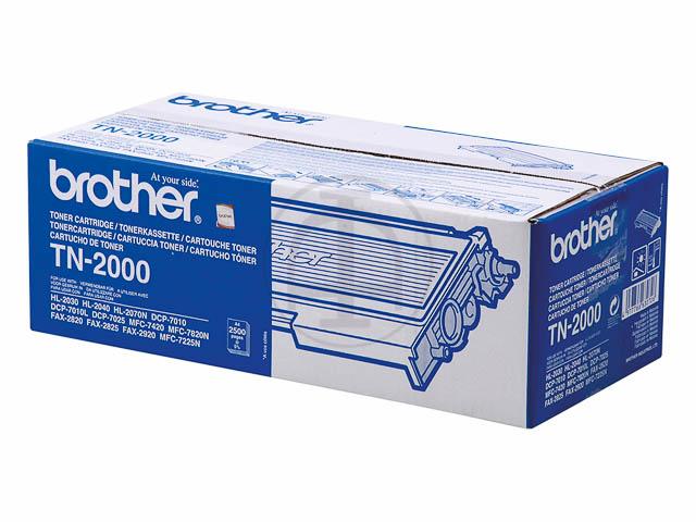 TN2000 BROTHER HL2030 TONER BLACK 2500Seiten