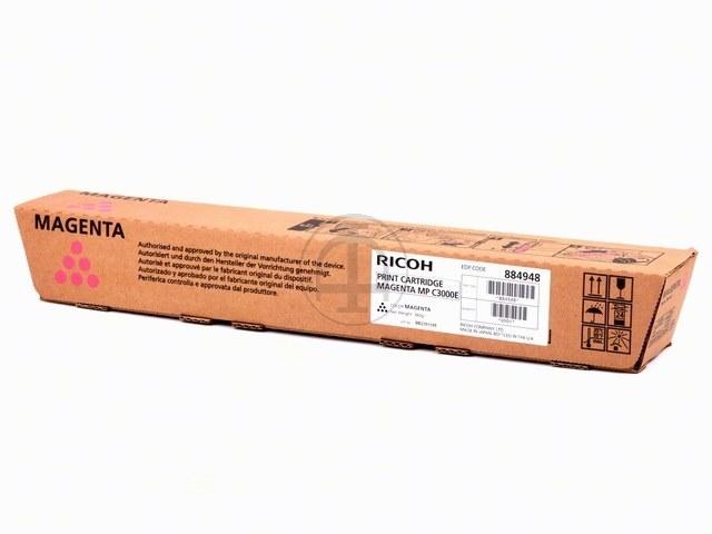 842032 RICOH MPC2500 TONER MAGENTA Type MPC3000 15.000Seiten