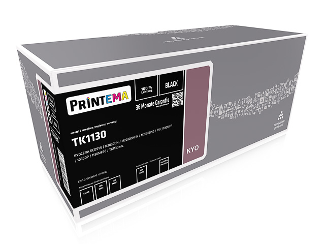 PT20287 P.TEM KYO.FS1130MFP BLACK 3000Seiten 5%Deckung