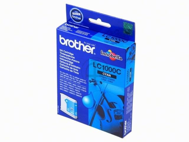 LC1000C BROTHER DCP130C TINTE CYAN 400Seiten