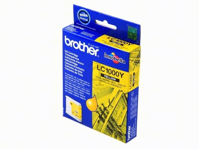 LC1000Y BROTHER DCP130C TINTE YELLOW 400Seiten