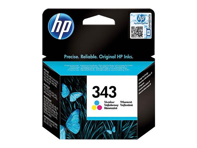 C8766EE HP DJ5740 TINTE COLOR HP343 7ml 330Seiten