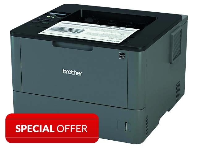 BROTHER HLL5100DN S/W LASERDRUCKER HLL5100DNG1 A4/Duplex/LAN/Mono